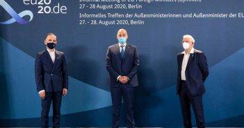 Συμβούλιο ΥΠΕΞ: «Απόλυτη αναγκαιότητα» οι κυρώσεις κατά Τουρκίας, το μήνυμα Δένδια