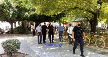 Αστυνομική Διεύθυνση Ακαρνανίας: Δέκα πρόστιμα για μη χρήση μάσκας