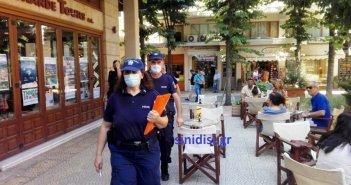20 πρόστιμα χθες στη Δυτική Ελλάδα για μη χρήση μάσκας – Τα 11 στην Αιτωλοακαρνανία