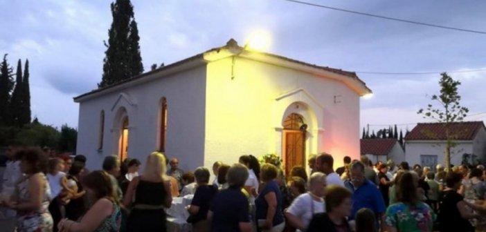 Γιορτάστηκε η Μεταμόρφωση του Σωτήρος στο Ευηνοχώρι (ΔΕΙΤΕ ΦΩΤΟ)