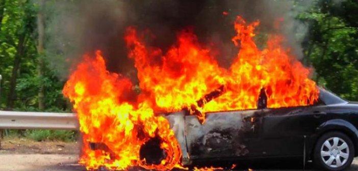 Φωτιά σε Ι.Χ. αυτοκίνητο στην Κωνωπίνα Ξηρομέρου