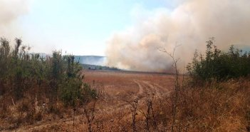Δείτε φωτογραφίες και βίντεο του sinidisi.gr από τη φωτιά στην Αστροβίτσα Αιτωλικού