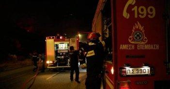 Θέρμο: Κινητοποίηση της Πυροσβεστικής για φωτιά σε ξενοδοχείο