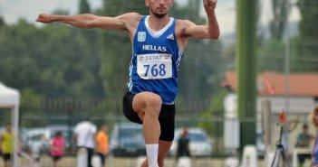 Ο Αγρινιώτης Σαράκης Κωνσταντίνος στους τελικούς του Πανελλήνιου Πρωταθλήματος Κλασσικού αθλητισμού