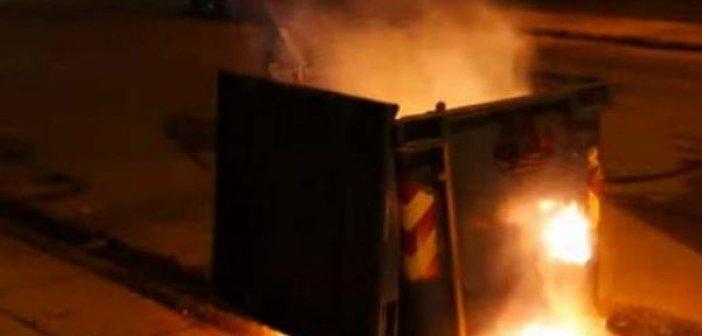 Αγρίνιο: Έβαλαν φωτιά σε κάδους απορριμμάτων και συνελήφθησαν