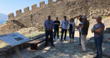 Η προστασία και η ανάδειξη της Καστροπολιτείας στο επίκεντρο συνάντησης στη Ναύπακτο (ΦΩΤΟ)