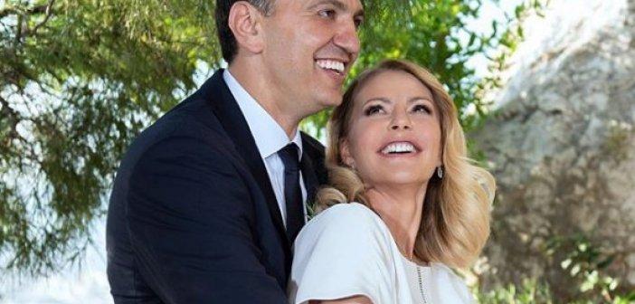 Νέο μέλος στην οικογένεια του υπουργού Υγείας Βασίλη Κικίλια και της Τζένης Μπαλατσινού