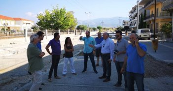 Μεσολόγγι: Στην τελική ευθεία η ολοκλήρωση της οδού Κύπρου (ΦΩΤΟ)