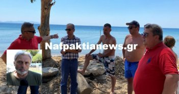 Μακύνεια: Μεγάλη κινητοποίηση για την καταγγελία απο πολίτες για παράνομη περίφραξη στην παραλία (VIDEO)