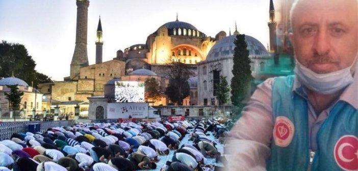 Πέθανε από ανακοπή καρδιάς μέσα στην Αγιά Σοφιά ο μουεζίνης Οσμάν Ασλάν