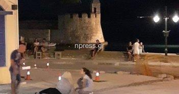 Ναύπακτος: Σοβαρό ατύχημα την νύχτα στην Ανάπλαση – Δεν υπήρχε ασθενοφόρο για μεταφορά (ΦΩΤΟ)