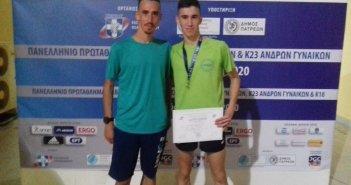 Δεύτερο μετάλλιο για το Νίκο Σταμούλη στο Πανελλήνιο Πρωτάθλημα Στίβου (ΦΩΤΟ)