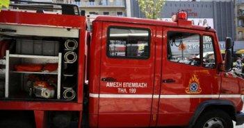 Κινητοποίηση της Π.Υ. Ναυπάκτου για πυρκαγιά σε σπίτι στο κέντρο της πόλης