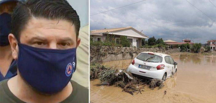Χαρδαλιάς από Εύβοια: Έχουμε πέντε νεκρούς από τις πλημμύρες