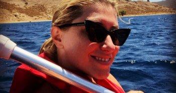 Σία Κοσιώνη: Η εντυπωσιακή υποβρύχια λήψη από τις διακοπές της (φωτο)