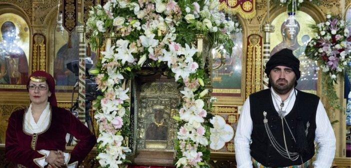 Παναγία Σουμελά: Με μάσκα οι προσκυνητές του Δεκαπενταύγουστου στην Καστανιά Ημαθίας