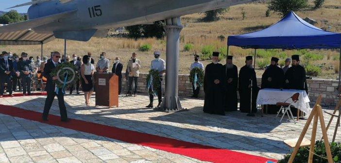 Θέρμο: Σήμερα η εκδήλωση προς Τιμήν των Πεσόντων Αεροπόρων παρουσία του Υφυπουργού Εθνικής Άμυνας