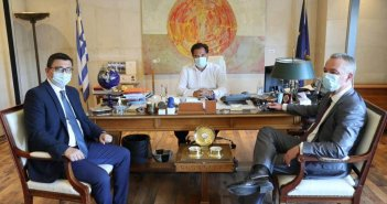 Συνάντηση του Δημάρχου Ξηρομέρου με τον Άδωνι Γεωργιάδη (ΔΕΙΤΕ ΦΩΤΟ)
