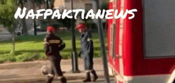 Ναύπακτος: Σοβαρό τροχαίο ατύχημα κοντά στην πλατεία Βλάντη