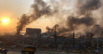 Βηρυτός: Τουλάχιστον 78 νεκροί και 4.000 τραυματίες από τις κολοσσιαίες εκρήξεις – Ανατινάχτηκαν 2.750 τόνοι νιτρικού αμμωνίου! (VIDEO)