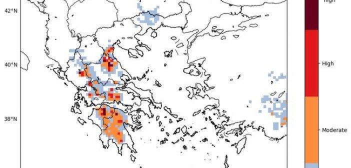 Επιδείνωση του καιρού και στην Αιτωλοακαρνανία (ΔΕΙΤΕ ΧΑΡΤΕΣ)