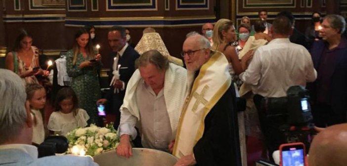 Νονός ο Νίκος Αλιάγας στην Ορθόδοξη βάπτιση του Ζεράρ Ντεπαρτιέ!