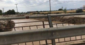Αποκατάσταση των προβλημάτων που δημιούργησε η πλημμύρα στο Στράτο