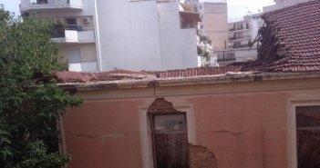 Αγρίνιο: Κίνδυνος στις καπναποθήκες Ηλίου – Κατέρρευσε κι άλλο τμήμα της στέγης (ΔΕΙΤΕ ΦΩΤΟ)