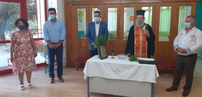 Εγκαίνια δύο νέων βρεφικών τμημάτων από τον δήμαρχο Αγρινίου