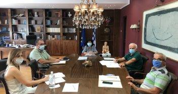 Ενημερωτική συνάντηση στην Π.Ε. Αιτωλοακαρνανίας για τα μέτρα προστασίας στα σχολεία