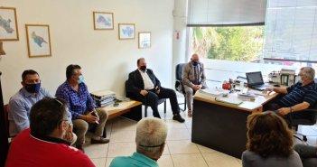 Τρεις  Αντιπεριφερειάρχες στον ΕΛΓΑ για τις ζημιές που υπέστησαν οι αγρότες  από τον «Ιανό»