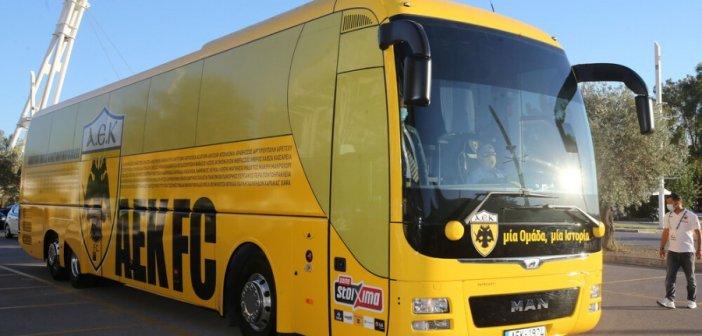 ΑΕΚ: Ο «Ιανός» βάζει… μπλόκο στο ταξίδι για το Αγρίνιο