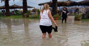 Ρίο: Πλημμύρισε η παραλιακή ζώνη (ΦΩΤΟ)