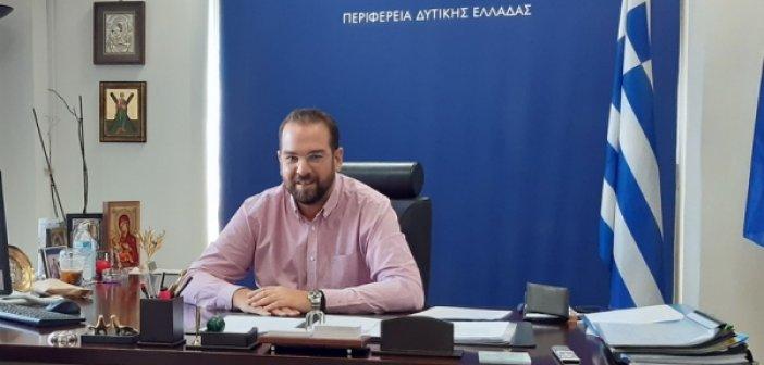 Ν.Φαρμάκης: Σε πλήρη ετοιμότητα η Περιφέρεια Δυτικής Ελλάδας (ΒΙΝΤΕΟ)