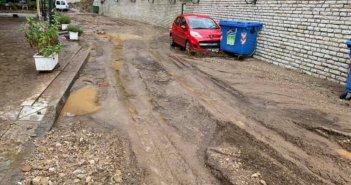 Σοβαρές ζημιές στον δήμο Θέρμου – Κατολισθήσεις σε αρκετά σημεία