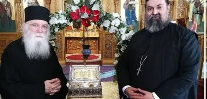 Αγρυπνία για την πανδημία στον Ι.Ν. του Αγίου Νικολάου Αντιρρίου