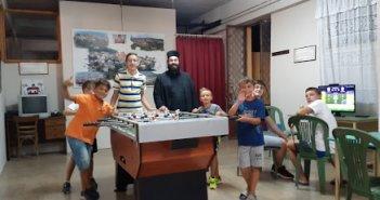 Ξηρόμερο: Άνοιγμα του Κέντρου Νεότητος για τα παιδιά των Κατηχητικών Σχολείων της ενορίας του Αγ. Αθανασίου