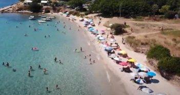 Ξηρόμερο: Η Παραλία Αγριλιά (VIDEO)