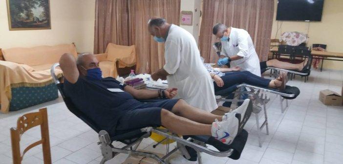 Καινούργιο: Ολοκληρώθηκε με επιτυχία η Εθελοντική Αιμοδοσία (φωτο)