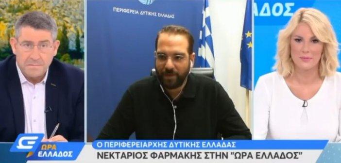 Ν.Φαρμάκης: Έχουμε κάνει την καλύτερη δυνατή προετοιμασία για να αντιμετωπίσουμε τον Ιανό (VIDEO)
