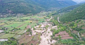 Ορεινή Ναυπακτία: Η σημερινή κακοκαιρία από ψηλά (Εικόνες)