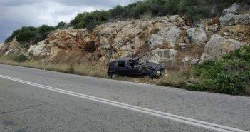 Εκτροπή αυτοκινήτου στο Κεφαλόβρυσο