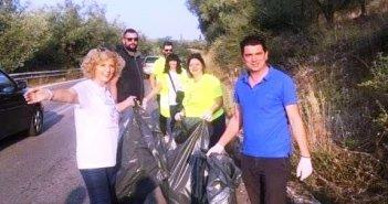 Αγρίνιο: Οι εθελοντές «άστραψαν» από καθαριότητα το δρόμο από την Αβόρανη έως και το Καινούργιο (ΔΕΙΤΕ ΦΩΤΟ)