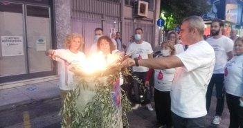 Η «Φλόγα της Αγάπης» στο Αγρίνιο (ΦΩΤΟ+VIDEO)