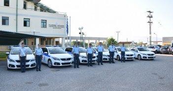 Αγρίνιο: 14 νέα περιπολικά στην Αστυνομική Διεύθυνση Ακαρνανίας