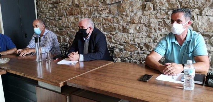 Κώστας Λύρος σε εργαζομένους ΔΕΥΑΜ: Με καλή συνεργασία θα κάνουμε «άλματα» στην λειτουργία της επιχείρησης