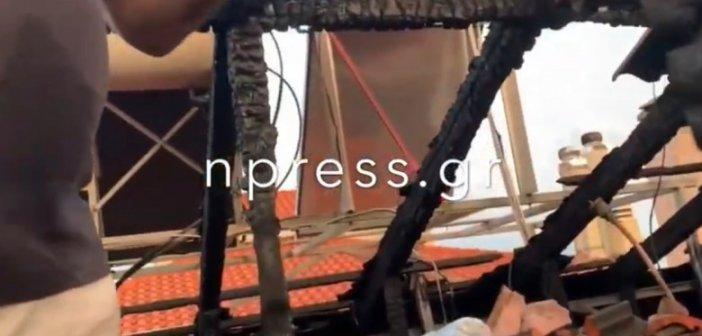 Παλαιοπαναγιά Ναυπάκτου: Πρωτοβουλία από Ναυπάκτιους επαγγελματίες για την επισκευή στέγης από την χθεσινή φωτιά