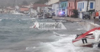 Η Ιθάκη μετρά τις πληγές της: Η κακοκαιρία «Ιανός» σάρωσε το νησί -Βυθίστηκαν σκάφη, καταστήματα υπέστησαν ζημιές (ΔΕΙΤΕ ΦΩΤΟ)