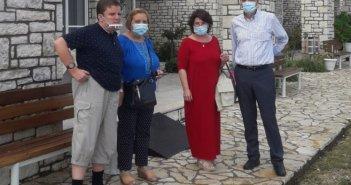 Ναύπακτος: Επίσκεψη του προέδρου της ΠΟΣΓΚΑμεΑ στην «Αλκυόνη»