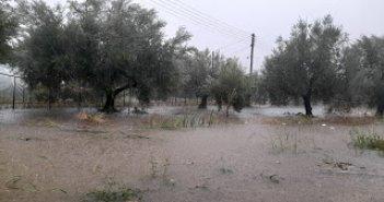 «Ιανός»: Στη Γαβαλού η υψηλότερη ολική βροχόπτωση